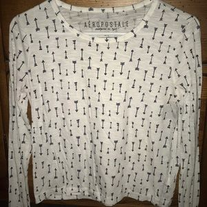 Aeropostale arrows long sleeve